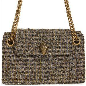 Kurt Geiger London Kensington Metallic Tweed Bag